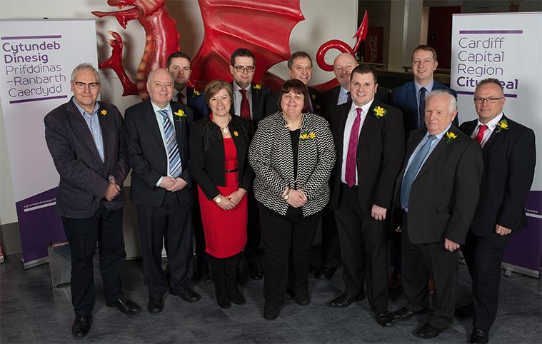 Cardiff Capital Region members sign Deal