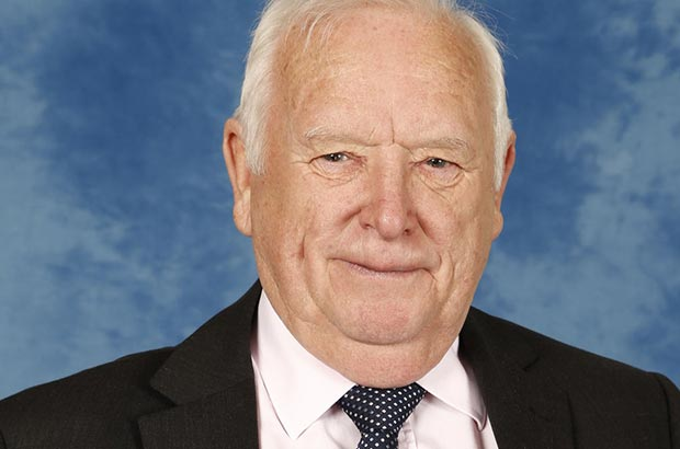 Councillor Dave Poole, Caerphilly